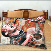 """Dave Matthews Band Art Personalised - 20 """" x 30 """" inch,Pillow Case and Pillow Cover."""