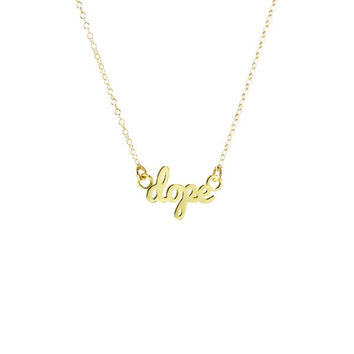 """Dope"" Necklace"