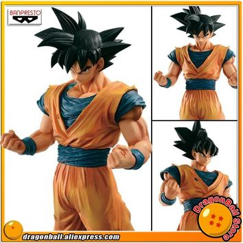 "Japan Anime ""Dragon Ball Z"" Original Banpresto Resolution of Soldiers Grandista Vol.4 Collection Figure - Son Goku (Gokou)"