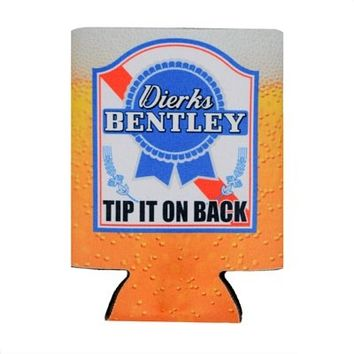 Tip It On Back Koozie - Dierks Bentley Store