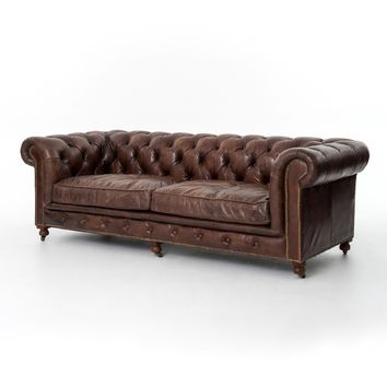LANGLEY CHESTERFIELD SOFA 96""
