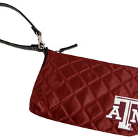 Texas A&M Aggies Quilted Wristlet Purse