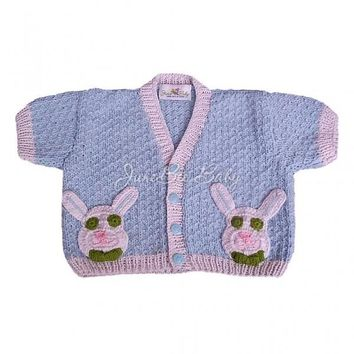 My Energized Bunny Baby Sweater Size 6-12M