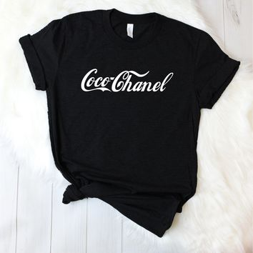 Coco Chanel Paris Unisex T-Shirt [3001]