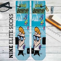 Dexter's Laboratory Custom Nike Elite Socks