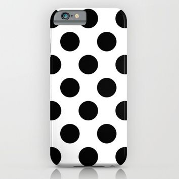 Classic Polka Dot Pattern iPhone & iPod Case by New Wave Studio