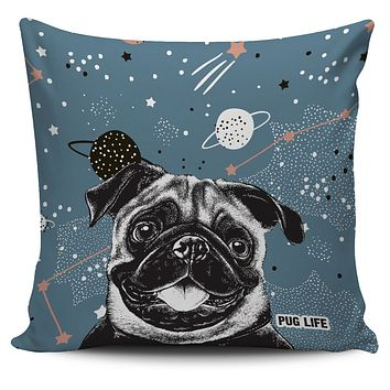 Pug Life Pillow Cover