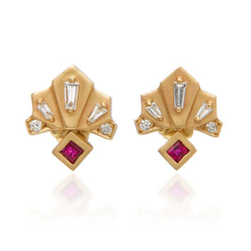Nomad Fan Earrings | Moda Operandi