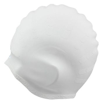 Silicon Swimming Hat Cover Protect Ear Long Hair Waterdrop Swimming Caps