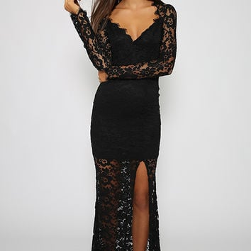 Forge Ahead Dress - Black