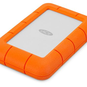 LaCie Rugged Mini - Disco duro externo portátil para Mac y PC 4 TB (USB 3.0, 2.5'): Lacie: Amazon.es: Informática