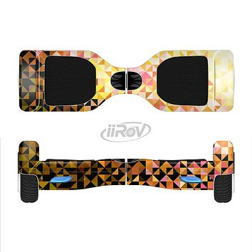 The Golden Abstract Tiled Full-Body Skin Set for the Smart Drifting SuperCharged iiRov HoverBoard