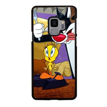 SYLVESTER AND TWEETY Samsung Galaxy S3 S4 S5 S6 S7 S8 S9 Edge Plus Note 3 4 5 8 Case