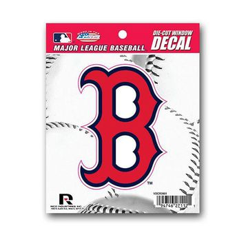 ONETOW Rico Die Cut Decal - MLB Boston Red Sox 'B' Logo