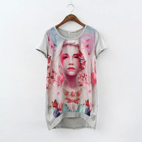 New Hot Fashion Womens Casual Blouse Short Foever21 Like Sleeve Shirt T shirt Summer Blouse Tops = 4721724356