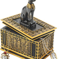 Royal Bastet Egyptian Box - WU74309