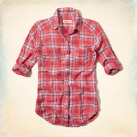 Shady Canyon Plaid Shirt