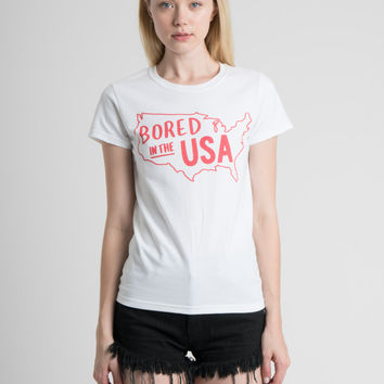Bored in the USA Tee