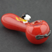 Glass pipe with Dog