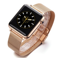 L1 Smart watch IP67 waterproof smartwatch removeable metal strap MTK2502C Reloj Inteligente for Apple IOS Samsung Android Phone