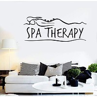 Wall Stickers Vinyl Decal Spa Massage Relax Therapy Girl Health Unique Gift (ig1707)