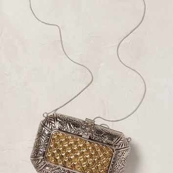 Macy Metallic Clutch