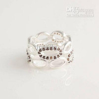 High-quality Engagement Rings 100% 925 Sterling Silver Yellow CZ Stone Charm Ring European Style Fashion Jewelry