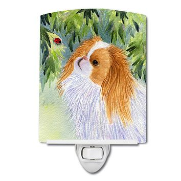 Japanese Chin Ceramic Night Light SS8260CNL