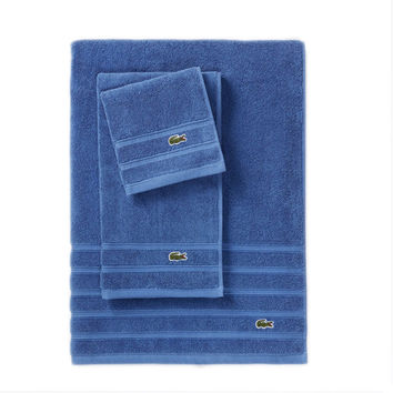 Lacoste Blue Towel Set