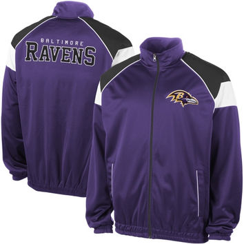 Baltimore Ravens I Formation Track Jacket – Purple