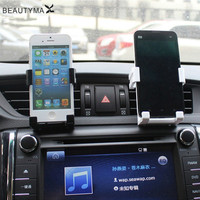 car Holder For Iphone 7 6 Plus 5s Air Vent Mount phone Holder For iphone Samsung Stand suporte celular for Mobile Phone Holder