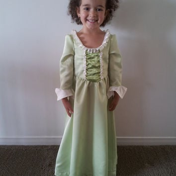 SOFIA the First Princess AMBER Inspired Dress Costume Play Dress Size 6 to 8 Available sizes from 3T to 8