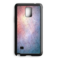 Swirling Flower Pattern Samsung Galaxy Note 4 Case