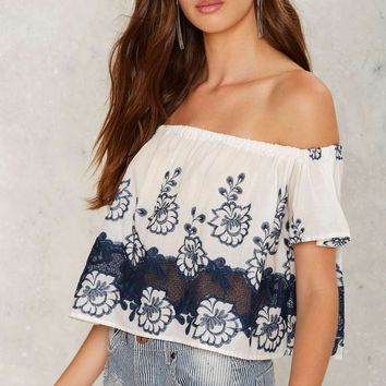 Mae Off-the-Shoulder Top