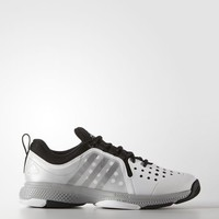 adidas Barricade Classic Bounce Shoes - White | adidas US