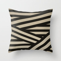 Bandage Throw Pillow by Charlene McCoy