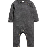 Merino Wool Overall - from H&M
