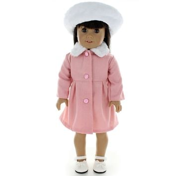 Doll Clothes Fits American Girl & Other 18 Inch Dolls J. Kennedy Style Dress