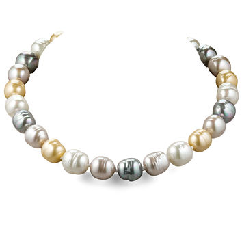 Multi-Pearl Necklace - Majorica