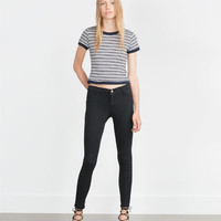 LOW WAIST STRETCH JEGGINGS