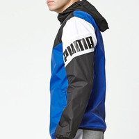 Puma Football Black Windbreaker at PacSun.com