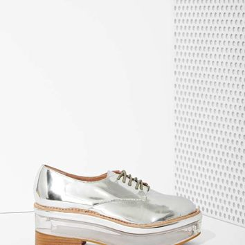 Jeffrey Campbell Perplex Box Leather Platform