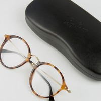 Ray-Ban Round Glasses 0RX2447V at asos.com
