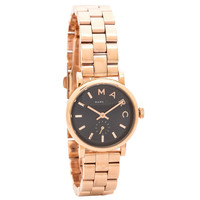 Marc by Marc Jacobs MBM3332 Women's Baker Navy Blue Dial Rose Gold Steel Watch