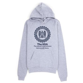 The NSA California Fleece Hoodie Sweatshirt