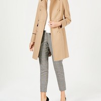 Vince Camuto Wing-Collar Military Coat Women - Coats - Macy's