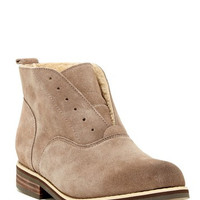 Chelsea Suede Faux Shearling Lined Bootie