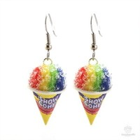 Scented Snow Cone Earrings