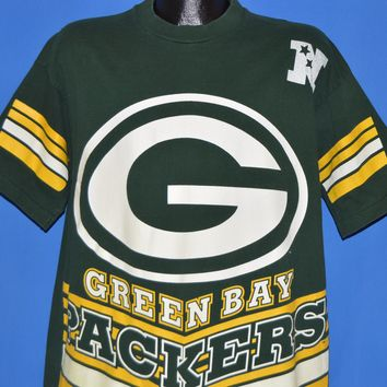 90s Green Bay Packers Logo NFL Jersey t-shirt Large