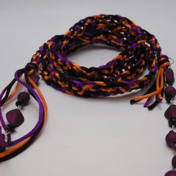 Handfasting Cord - Carnivále  CUSTOM ORDERS WELCOME - Trinity Crossing